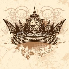 crown Royalty Free Stock Vector Art Illustration