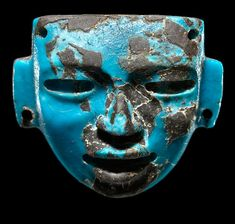 Teotihuacan Turquoise Mask pendent(3rd-6th)