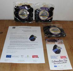 Das Paket kam bereits letzte Woche bei uns an – DANKE! Pruneaux d´Agen g.g.A. Trockenpflaumen