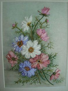Gallery.ru / Фото #2 - вышивка шелковыми лентами - seidenliebe Ribbon Embroidery, Embroidery Designs, Lent, Tableware, Dinnerware, Lenten Season, Dishes