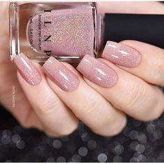Beautiful swatch of our Spring peach-beige jelly, Sandy Baby, by the lovely @sveta_sanders!