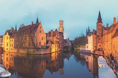 Bruges Wall Mural, custom made to suit your wall size by the UK's No.1 for murals. Custom design service and express delivery available.