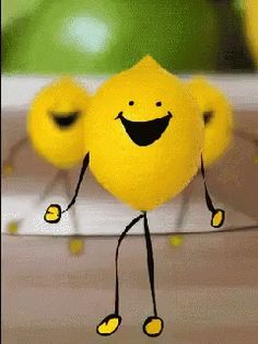 The perfect Lemon Dance Cartoon Animated GIF for your conversation. Discover and Share the best GIFs on Tenor. Funny Emoticons, Funny Emoji, Funny Gifs, Animated Smiley Faces, Animated Gif, Lemon Images, Viernes Gif, Gif Lindos, Mood Gif
