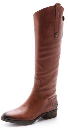 Penny Tall Flat Boots - Lyst