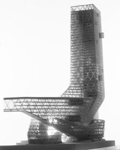 Four Towers in One Competition - Morphosis