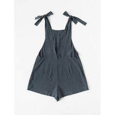 Shop Self Tie Raw Hem Pinafore Romper online. SheIn offers Self Tie Raw Hem Pinafore Romper & more to fit your fashionable needs. Fashion Mode, Diy Fashion, Ideias Fashion, Womens Fashion, Latest Fashion, Diy Clothing, Sewing Clothes, Diy Vetement, Look Boho