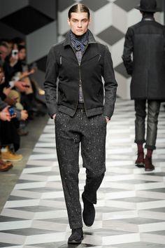 Robert Geller Fall 2013 Menswear Collection Slideshow on Style.com