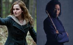 Two Hermiones - Emma Watson meets #CursedChild's Noma Dumezweni