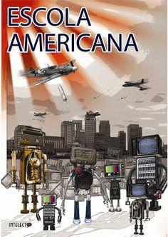 * Trabalho acadêmico _________________________ Comunicação Gráfica: uma das disciplinas mais empolgantes da faculdade. Em um dos trabalhos estudando sobre os modelos de comunicação, foi proposto a criação de uma revista explicando um dos modelos que ainda permanecem em nossa sociedade: o Paradigma funcionalista pragmático. Este modelo - também conhecido como Escola Americana; surgiu nos EUA (décadas de 1940 a 1960 aproximadamente). A capa foi construída com elementos que remetiam essa…
