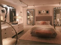 Pleasant teen girl bedrooms makeover for a smart teen girl room decor, pin reference 4036910503 Girl Bedroom Designs, Room Ideas Bedroom, Small Room Bedroom, Home Bedroom, Bedroom Inspo, Long Bedroom Ideas, Classy Bedroom Ideas, Dream Bedroom, Teen Bed Room Ideas