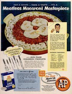 1954 Macaroni Parmigiana