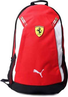 Small Backpack, North Face Backpack, Adidas Bags, Backpack Brands, Cool Backpacks, Leather Men, Ferrari, Red And White, Brand New