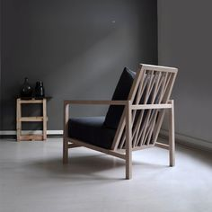 ENG Lounge Chair i solid oak by Elin Louise Sveen