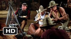 Blazing Saddles- The Campfire Blazing Saddles Movie, Blazing Saddles Quotes, Harvey Korman, We Movie, Friday Humor, New Trailers, Series Movies, Funny People, Funny Kids