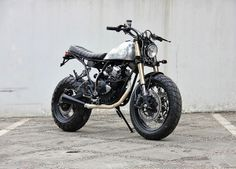 "Yamaha Scorpio ""The Bubble Terror"" by Studio Motor"