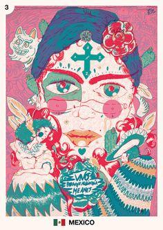 Mes del mundial: Mexico Junio, día 03 Eze Titi http://diariodetiti.tumblr.com/ Tequila,tabaco y ron.(?)