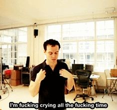 Andrew Scott Sea Wall crying all the time