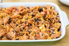 Quick Weeknight Tex-Mex Chicken Casserole Recipe
