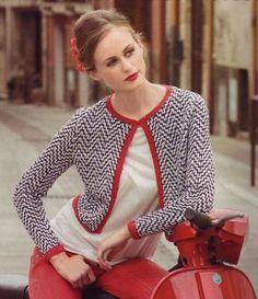 Ravelry: # 01 Gracia pattern by Lisa Richardson
