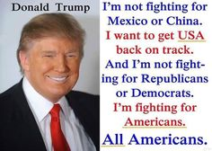 Fighting for ALL Americans!