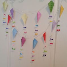 Kite Garland Mary Poppins Birthday Baby Shower by HandyGrams Partying Hard, Throw A Party, Mary Poppins, Kite, Garland, Backdrops, Baby Shower, Handmade Gifts, Birthday