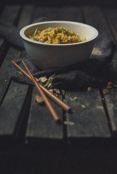 Coconut Turmeric Basmati With Cashews (vegan)