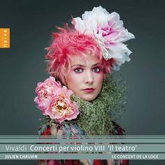 CD : des concertos de violon de Vivaldi sous le signe du théâtre Le Concert, Julien, Presentation Design, Naive, Logs, Creative, Apple Music, Albums, 21st