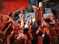 Chuck Heston lays down the law in The Ten Commandments and  changes the rules of sin and cinema forever.