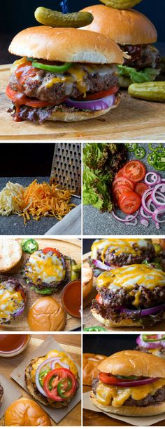 Barbecue Bacon Cheeseburgers | Click Pic for 20 Easy 4th of July Party Food Ideas and Recipes | Easy Summer Party Food Ideas for Adults