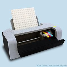 LEGO Printer by bruce Lowell