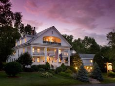 Rabbit Hill Inn, Vermont  Named One of the Top 100 Hotels in the World by Travel+Leisure Magazine, Rabbit Hill Inn is considered one of the most romantic places on the planet.... or so says Zagat's Guide. AAA Four Diamond Inn & Dining Room.... a paradise for the senses, vacation for the soul! http://www.rabbithillinn.com/