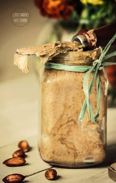 Honey-Almond Butter @SECooking | Sandra #homemade