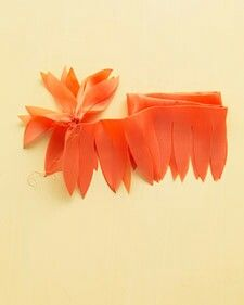 Diy fabric flower Dahlia tutorial