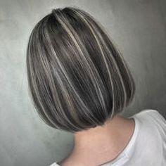 Hair Dyed Underneath, Hair Contouring, Hair Color Streaks, Dark Hair With Highlights, Hair Shades, Aesthetic Hair, Hair Painting, Stylish Hair, Balayage Hair