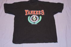 Vintage 1991 - NY Yankees Tshirt by TheMercerStreetHouse on Etsy