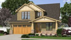 Front Rendering. This is our house plan for 40284 Aristotle Drive