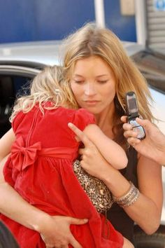 Kate moss and her daughter!
