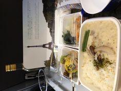 機内食のランチはスープストックトーキョープロデュース