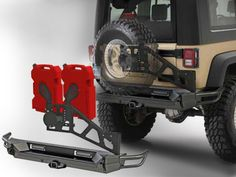 Smittybilt® SRC Gen2 Bolt-on Tire Carrier for 07-14 Jeep® Wrangler JK 2-Door