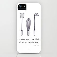 the whisk wasn't the tallest iPhone Case by Marc Johns - $35.00