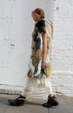 manila grace outfit, manila grace look, bohemienne style, boho chic look, gipsy trend, maxi faux fur, white trend, red hair, elisa bellino, theladycracy, fashion blog milano, fashion bloggers italy, fashion bloggers outfits, fashion trends 2015,