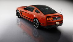 2013 Ford Mustang Boss 302  My son's dream car.......