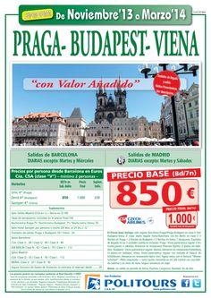 PRAGA-Budapest-Viena, sal. del 27/02 al 31/03 desde Mad y Bcn (8d/7n) p.final 1.000€ valor añadido ultimo minuto - http://zocotours.com/praga-budapest-viena-sal-del-2702-al-3103-desde-mad-y-bcn-8d7n-p-final-1-000e-valor-anadido-ultimo-minuto/