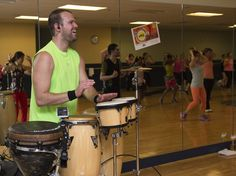 Jay on the Drums is emerging as the world's leading fitness drummer for aerobic classes. For more on this fitness drummer please visit: www.JayontheDrums.com. Teachers, a great way to create a unique class or event is to add a fitness drummer. #zumba