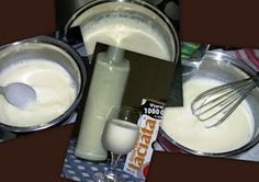 W mojej kuchni: Nalewka śmietankowa wg Aleex Glass Of Milk, Food, Image, Essen, Meals, Yemek, Eten