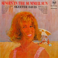 Another Skeeter Davis Skeeter Davis, Vintage Records, Summer Sun, Vinyl Records, Vintage Designs, Albums, Country, Canvas, Cover