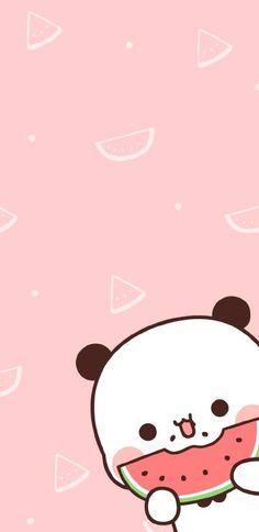 微博 Wallpaper Doodle, Cute Panda Wallpaper, Bear Wallpaper, Kawaii Wallpaper, Wallpaper Iphone Cute, Kawaii Cute Wallpapers, Cute Simple Wallpapers, Panda Wallpapers, Cute Backgrounds