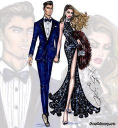 Fashion illustrations Hayden Williams