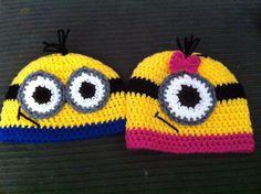 Crochet Minion Hat by OopsyDaisyBB on Etsy, $20.00