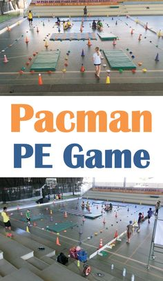 PE Teacher Joel Smedes shares his Human Pacman game as part of a unit called Adventure Challenges, where students learn communication, cooperation, team interaction, reflection and strategies #physed
